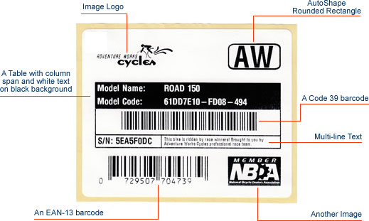 How to create and print barcode thermal label with Zebra ZPL