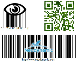 Artistic Barcodes with logo & fill patterns