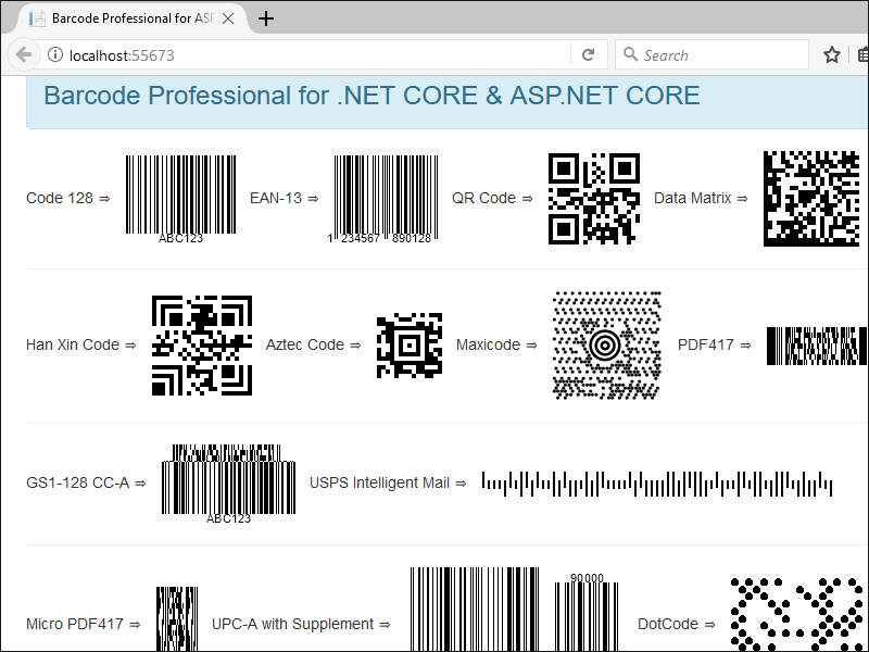 Barcode Professional for .NET STANDARD