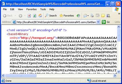 BarcodeProfessional Web Service
