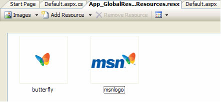 MsnResources.resx - Resource file