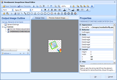 Neodynamic ImageDraw Visual Editor
