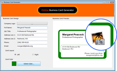 How to build a business card generator in vb and c featuring net business card generator colourmoves