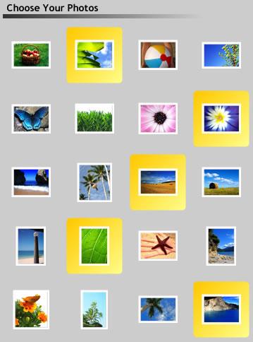 Visual Photo Thumbnails Highlighter
