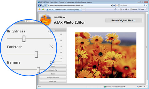 UI leveraging ASP.NET AJAX Control Toolkit