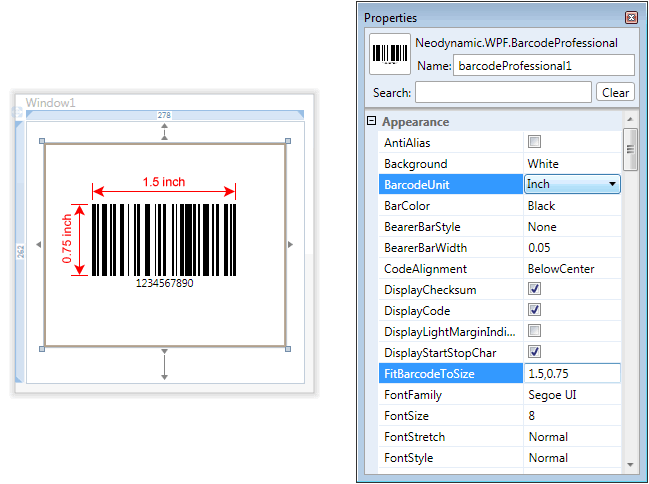 How to create barcodes using C# or VB NET and Barcode