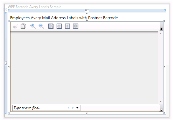 How to create Avery Address Labels in WPF with C# or VB NET