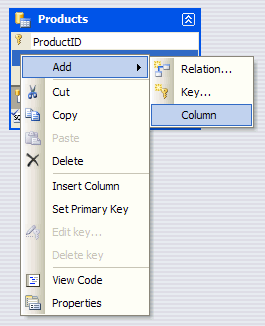Adding a new Column to the DataTable for barcoding purpose