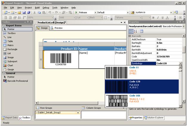 Barcode CRI 4