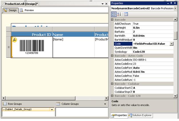 Barcode CRI 5