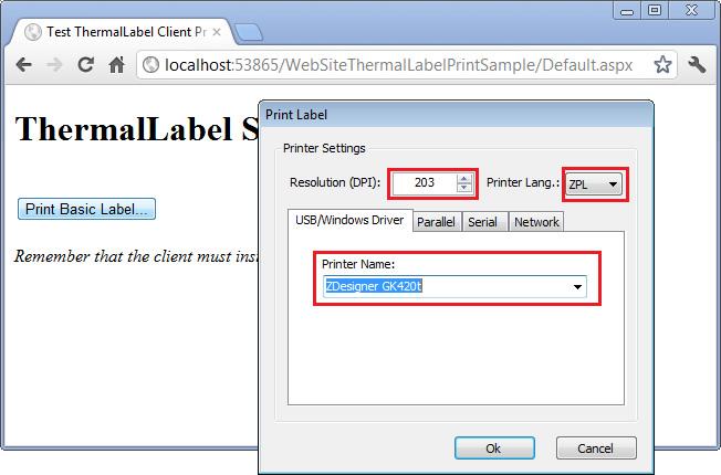 TLClientPrint default print dialog