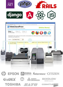 WebClientPrint - Raw Data & File Printing Solution for ASP NET & PHP