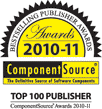 ComponentSource Bestselling Publisher Awards for 2010-2011
