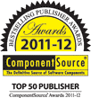 ComponentSource Bestselling Publisher Awards for 2011-2012