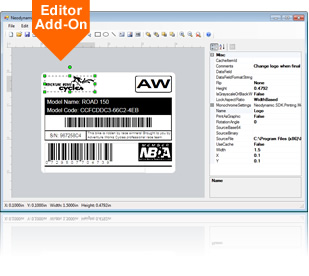 .NET ThermalLabel Visual Editor Add-on