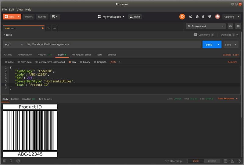 Code-128 Barcode
